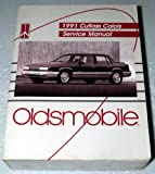 1991 Oldsmobile Cutalss Calais Service Manual (Complete Volume)