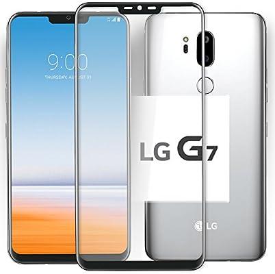 Cristal Templado LG G7 ThinQ Protector Pantalla: Amazon.es ...