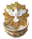 Holy Spirit with Holy Water Holder Pendant Divine Spirit