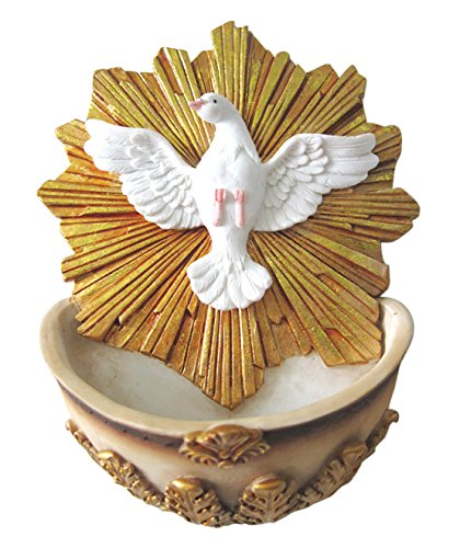 Holy Spirit with Holy Water Holder Pendant Divine (Holy Water Holders)