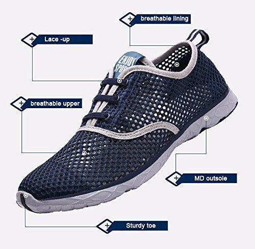uomo mesh traspirante scarpe casual comodo morbido Scarpe da passeggio leggero OUTDOOR VIAGGIO Scarpe Numeri UK 12