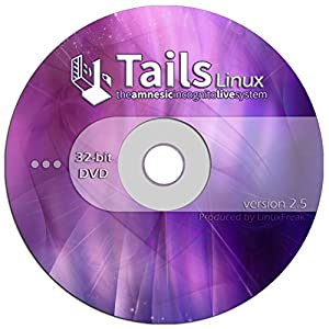 Tails Linux 2.5 - Browse Anonymously - Bootable Premium DVD