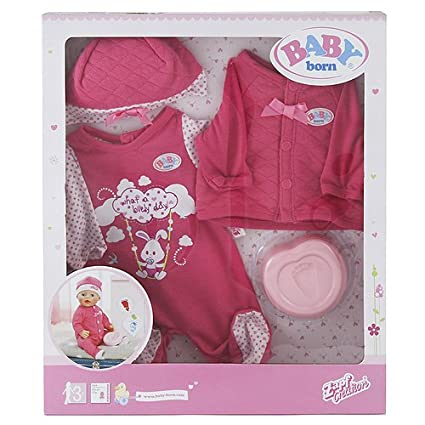 "Zapf ""baby Borns Deluxe Babys First"" Accessories"
