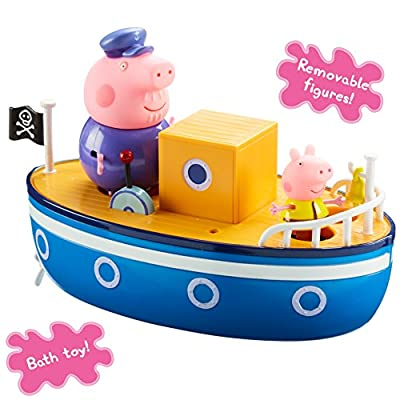 Peppa Pig 05060 Grandpa's Bath Time Boat: Toys & Games