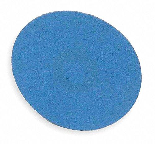 Norton R884P BlueFire Speed-Lok Abrasive Disc, Cloth Backing, TR, Zirconia Alumina, 3'' Diameter, Grit 50 (Pack of 25)