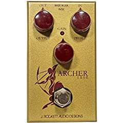 The Archer Ikon is sort of a 2 in one guitar pedal. It can be used as just a clean boost by turning the gain all the way down. As you introduce gain it will attenuate the clean signal but there is a magical blend in between that you will find...