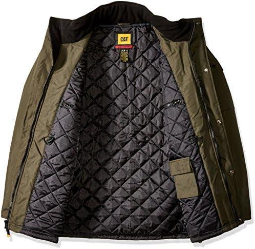 Caterpillar Heavy Men's Insulated Parka Big Tall Coat
