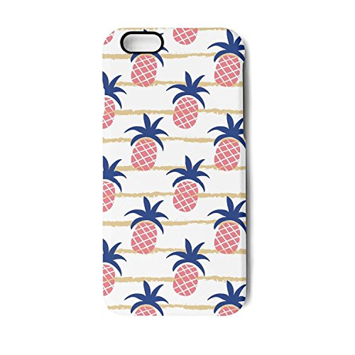 Yuwerw fgqq Pink Water Pineapple Tree Cool Unique Waterproof Cell Phone Cases for iPhone 6 Plus/iPhone 6s Plus Protective Phone Cases Mobile Shell Case Cover iPhone Holder