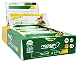 Organic Food Bar - Active Greens - 12 Bars