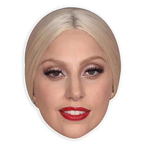 Lady Gaga Just Dance Costumes (Cool Lady Gaga Mask - Perfect for Halloween, Masquerade, Parties, Events, Festivals, Concerts - Jumbo Size Waterproof)