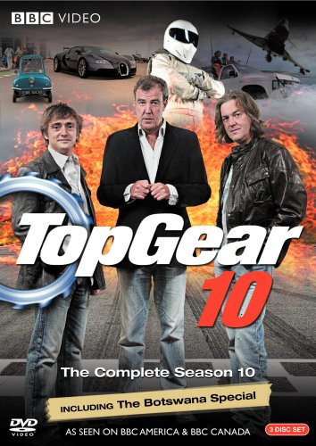 DVD : Top Gear 10: The Complete Season 10 (Widescreen, 3 Disc)