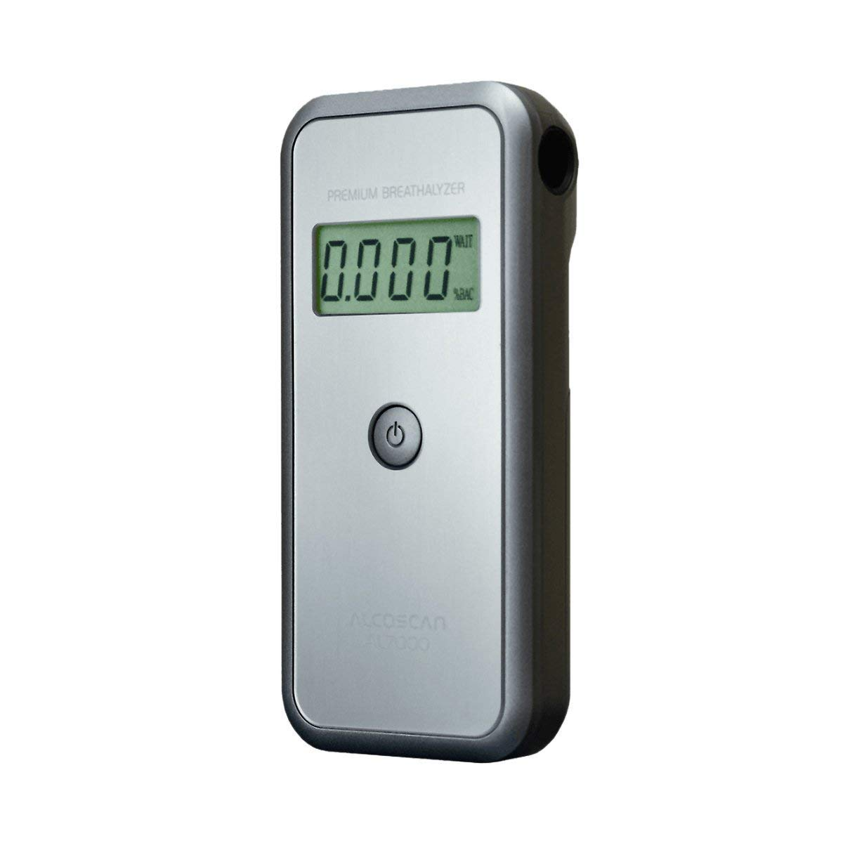 Image of Health and Household AlcoMate Premium (AL7000) Full Pack Alcohol Breathalyzer; home/business; detects BAC; no calibration