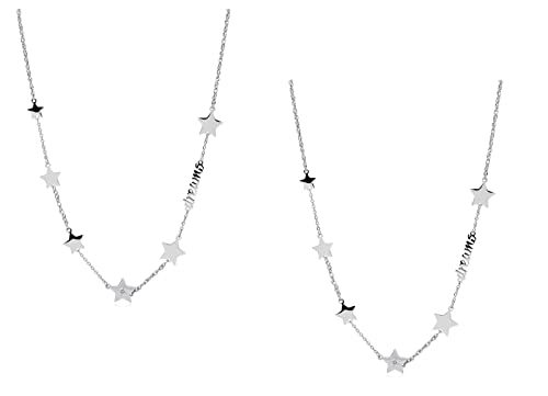 prezzi incredibili nuove foto lucentezza adorabile 2 Collane Sagapo donna gioielli Sagapò Fancy SFC07 stelle S ...