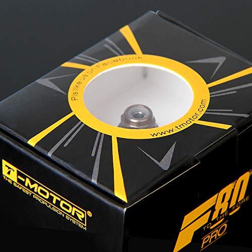4pcs T-Motor New FPV Racing brushless Motor F80 PRO KV1900/ 2200/ 2500 for Quad 250 Drone - (Color: 2200kv) ()