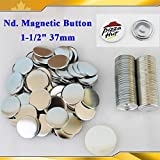 Asc365 100sets Nd. Magnetic 1-1/2'' 37mm Magnet Parts Supplies for Maker Machine
