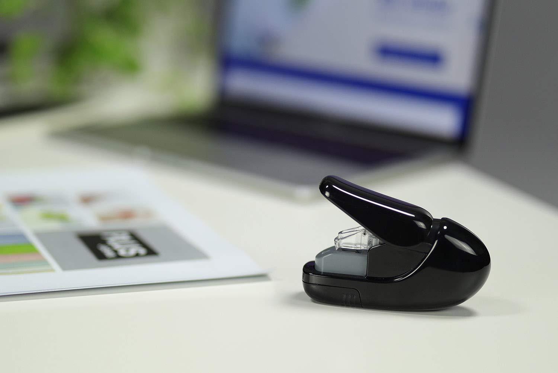 PLUS Japan 3114 Staple-Free Stapler Black