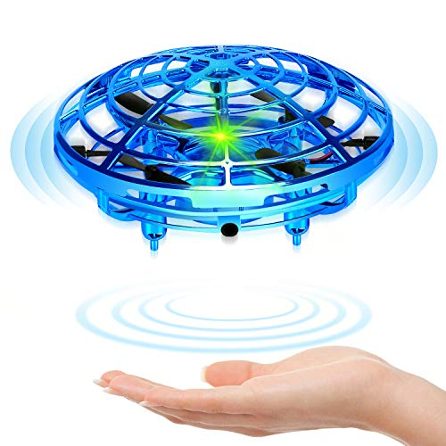 Niskite Hand Operated Mini Drone for Kids - Cool Flying Ball Toys for 4 5 6 7 8 Years Old Boys,Small UFO Helicopter Indoor Hover Ball,Top Popular Birthday Gifts for Girls Boy Age 9 10 11 12 Teens