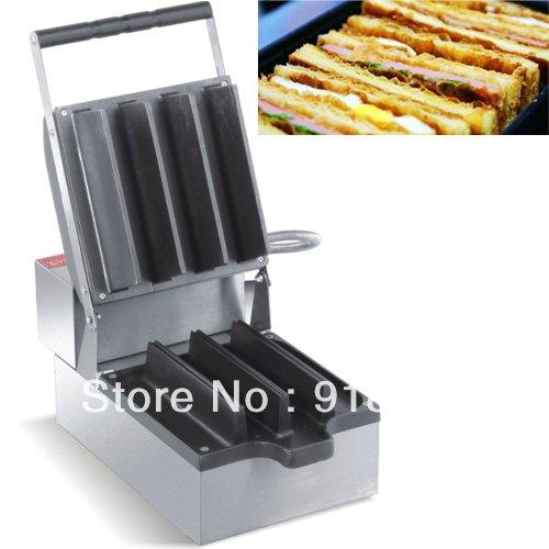 220v Electric 4pcs Japanese Sandwich Maker Machine by ANGELGARDEN