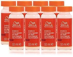 Wella - Enrich - Crema reparadora del cabello - 8 ampollas x 10 ml