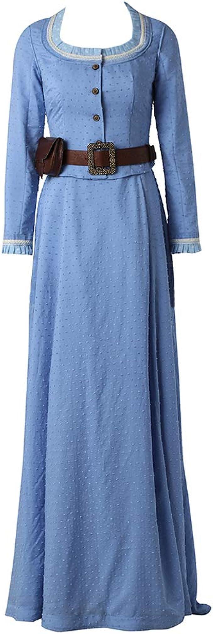 Dolores Abernathy Costume Adult West World Western Halloween Fancy Dress