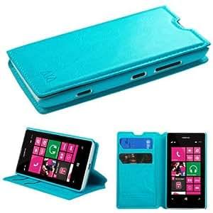 Viesrod Nokia Lumia 521 MyJacket Wallet Protector Case Cover - Blue
