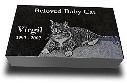 (Medium Premium Pet Headstone - Pet Grave Markers - Pet Gravestones - Pet Memorials)