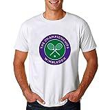 2016 Wimbledon Tennis Championships Short shirt for mens XL White