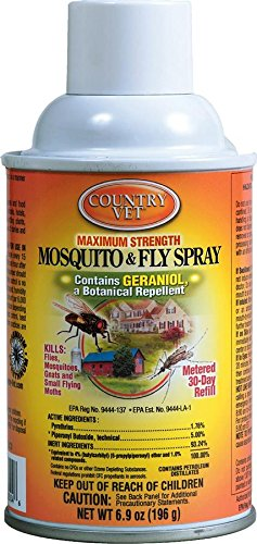 ZEP 342033CV Mosquito/Fly Refill Repellent Spray, 6.9-Ounce (Spray Fly Repellent)