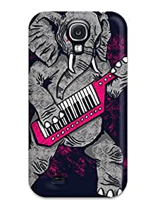 Awesome Elephant Flip Case With Fashion Design For Galaxy S4