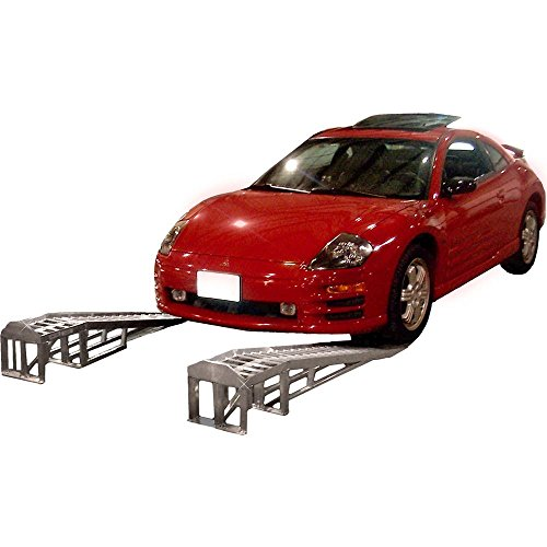 "66"" Low Profile Sports Car Lift Service Ramps"
