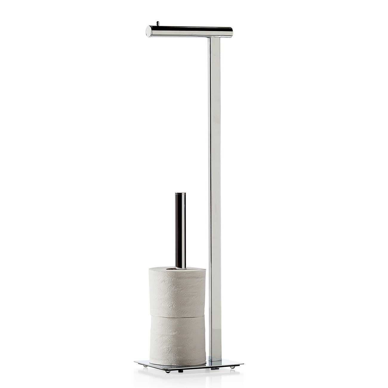 Torre & Tagus 950145 Pacific Spa Free Standing Toilet Paper Holder by Torre & Tagus (Image #1)