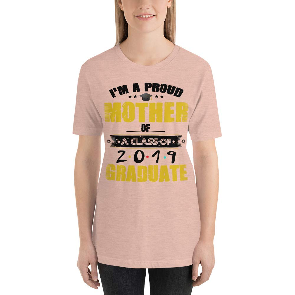 Funny Proud Mother of A Class of 2019 Graduate Tee Shirt