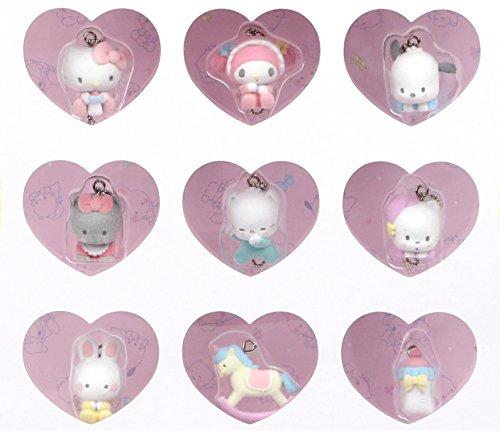 Sanrio characters 9-Piece Keychain Set: Sanrio babies by SANRIO