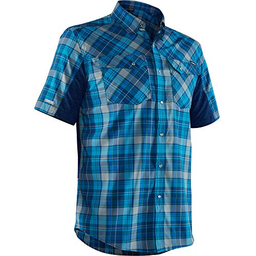 NRS Men's Guide Short-Sleeve Blue -