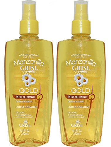 Grisi Chamomile Hair Lotion Manzanilla Lightens & Detangles 8.4 oz.. (2 Pack).. HPVagr
