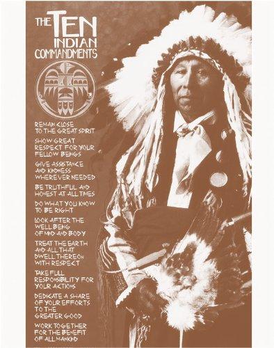 The Ten Indian Commandments Native American 11