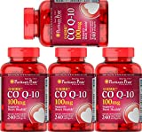 Puritan's Pride Q-Sorb CoQ10 100 mg, Rapid Release Softgels, 960 Count