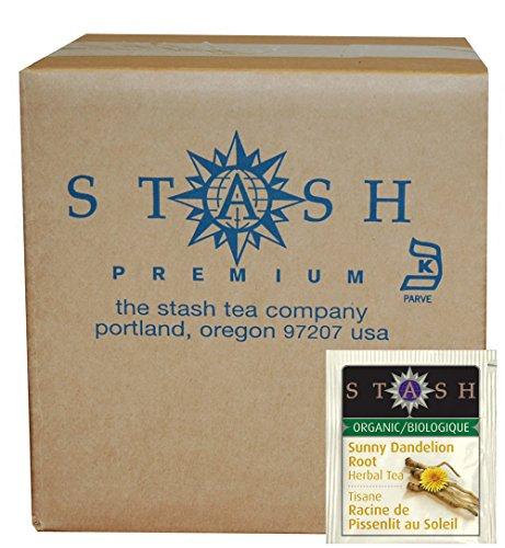 Stash Tea Organic Sunny Dandelion Root, 100 Count (packaging may (Dandelion Root Tea)