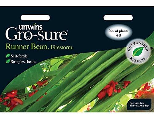 Unwins Runner Bean Firestorm