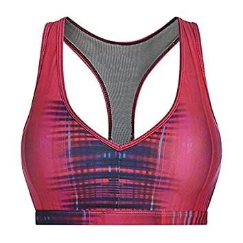 Pursue Fitness Allure Strappy Sujetador de Deporte, Mujer, Empower Pink, L: Amazon.es: Deportes y aire libre