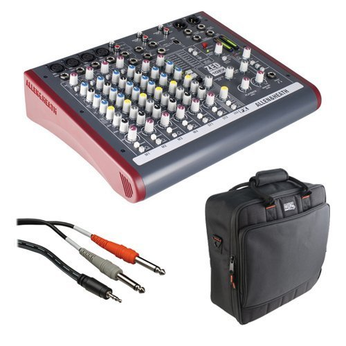 Allen & Heath ZED-10FX Multi-Purpose Miniature Mixer and Bag Kit