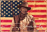 John Wayne Flag Tin Sign