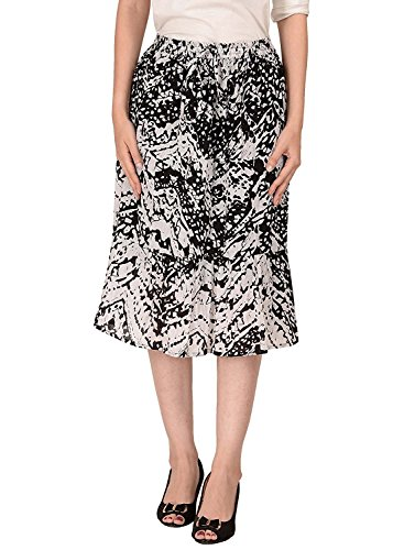 Cotton Women's Skirt A Multi Coloured Line Breeze rCwxqr