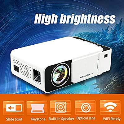 WXJHA HD LED proyector Smart 2500 lúmenes HDMI USB VGA AV Beamer ...