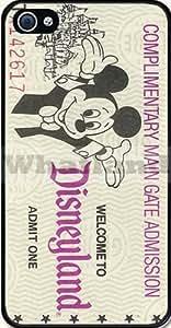 Disney Land Ticket Case for Apple iPhone 6 (4.7 inch) wangjiang maoyi