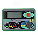 ELEOPTION DY4100 Digital Earth Ground Resistance Tester Meter Digital Earth Tester 0/20/200/2000Ω