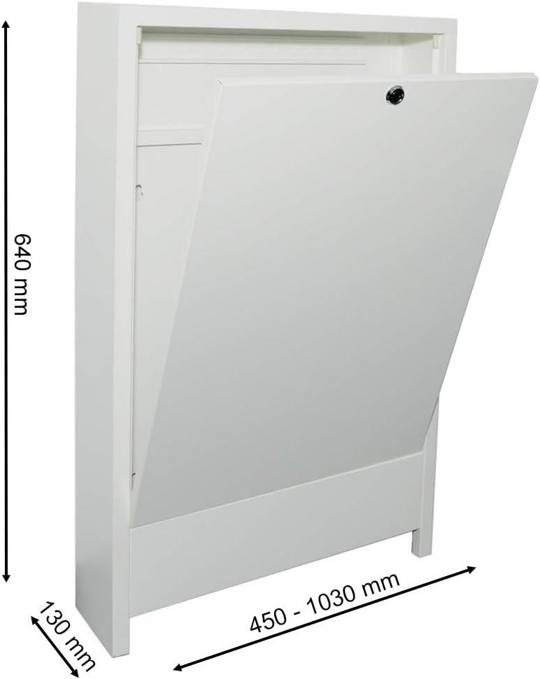 Verteilerschrank Aufputz 2-3 Heizkreise Fu/ßbodenheizung Verteilerkasten