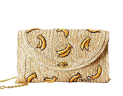 Women Mini Bag 2017 Embroidery Straw Meiyaa Cherry Woven New Bag Wheat Woven Summer A Original Handmade Pure PIwHqwO