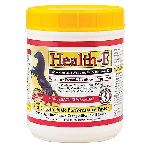 Equine Medical and Surgical Health-E Maximum Strength Vitamin E 180 Day