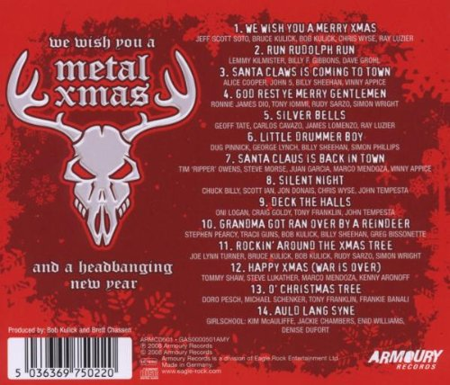 We Wish You a Metal Christmas & a Headbanging New - We Wish You a ...